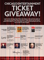 Sun-Times Fall Theater Giveaway