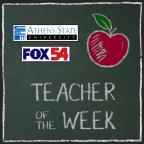 FOX54 Athens State University Teacher of the Week