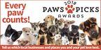 2018 Paws Picks Winners