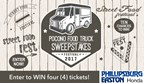 Pocono Food Truck Festival Sweepstakes