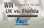 Falls Florida vs. Kentucky Ticket Giveaway