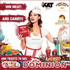 Meat and Candy Giveaway to see Old Dominion!