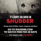 Shudder Subscription Giveaway