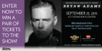 Bryan Adams Concert Sweepstakes