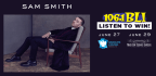 WIN TICKETS TO SEE SAM SMITH