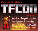 TFcon - Transformers Convention - Ticket Giveaway