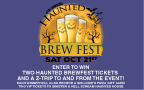 Haunted Brewfest Ticket Contest