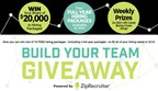 ZipRecruiter Build Your Team Giveaway
