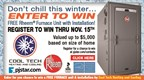 Don't Chill This Winter Sweepstakes