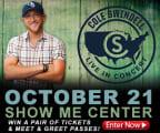 Cole Swindell Ticket Giveaway