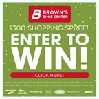 Brown's Shopping Spree Sweeps