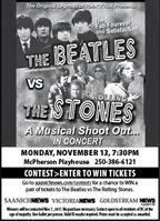 VNE, GNG, SNE - Beatles vs Stones Contest