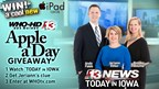 Channel 13 November Apple A Day Giveaway