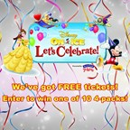Disney on Ice - Let's Celebrate! Ticket Sweepstake