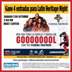 ENH-Florida Panthers Latin Heritage Night