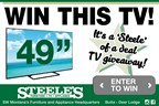 Steele of a Deal TV Giveaway