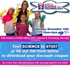 Girls, Science and Technology Registration