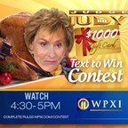 WPXI-TV Judge Judy Text to Win $1000 Sweepstakes