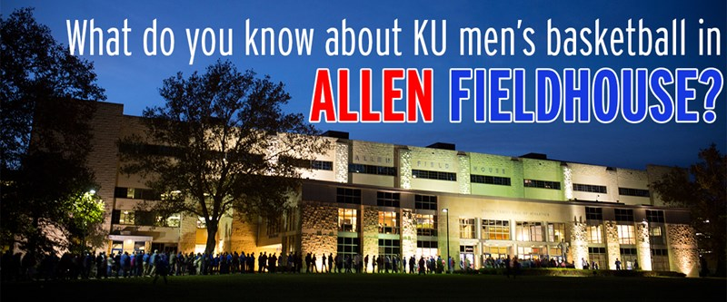 QUIZ: What do you know about Allen Fieldhouse?