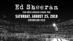 ED SHEERAN 2018 Contest