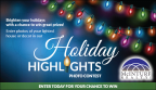 Holiday Highlights Sweepstakes