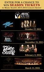 Music South | Season Ticket Giveaway