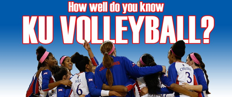 QUIZ: How well do you know KU Volleyball?