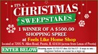 It's A Christmas Sweepstakes