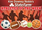 Kim Downey Noble's-State Farm Athletes of the Week 2017-18