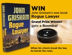 John Grisham's Rogue Lawyer & Roomba Giveaway