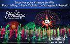 Disneyland Ticket Giveaway