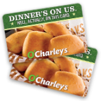 Enter to win a $25 O'Charley's gift card!