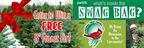 Swag Bag Alert: Enter to win a free 8' Fraser fir tree!!