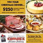 Win Christmas Dinner