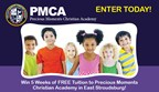 Precious Moments Christian Academy Free Tuition Sweepstakes