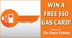 Win A $50 Gas Card! 11-21-17