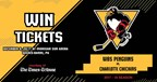 Win a Four-Pack of Tickets to see the WBS Penguins 11-17-17