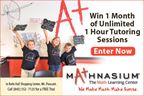 Win 1 Month of Tutoring from Mathnasium!