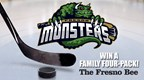 WIN MONSTERS HOCKEY Family 4-Pack!