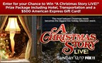 A Christmas Story LIVE! Giveaway