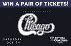 Tickets to see Chicago at Oakdale Theatre