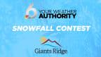Giants Ridge Snowfall Contest