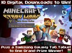 Minecraft Story Mode Digital Download and Game Tab