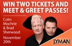 Colin Mochrie and Brad Sherwood Tickets and Meet & Greet