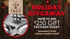 Holiday Giveaway: $250 Gift Package from Feed
