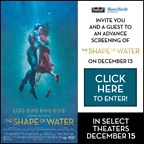 MH - THE SHAPE OF WATER Screening