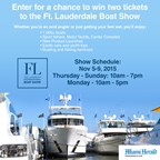 Ft. Lauderdale Boat Show Contest-2015