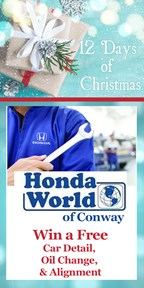 12 Days of Christmas with Honda World