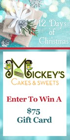 12 Days of Christmas with Mickey's Cakes & Sweets