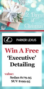 12 Days of Christmas with Parker Lexus